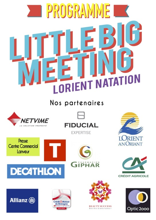 Programme Little BIG Meeting